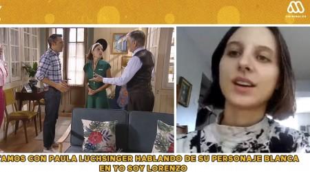 """Me encanta la ropa"": Paula Luchsinger se refirió al look de Blanquita en Yo Soy Lorenzo"