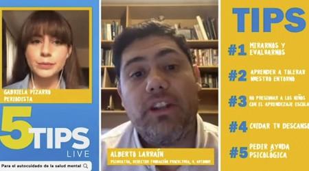 #5Tips live: Psiquiatra explica las primeras señales de estrés en la salud mental