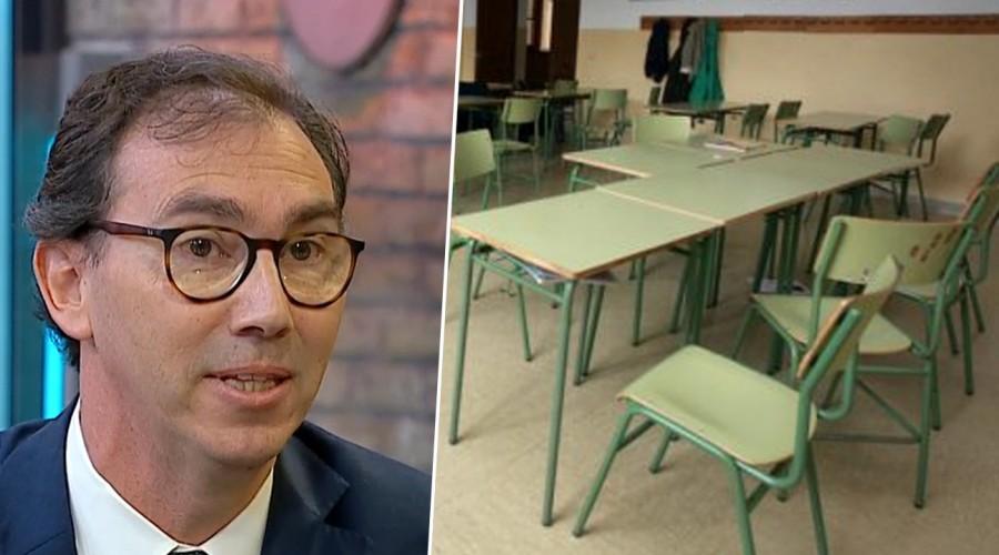"""Ministro de Educación sobre retorno a clases: """"Se hará cuando las condiciones sanitarias lo permitan"""""""
