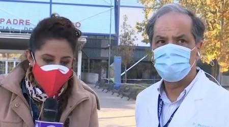 Hospital Padre Hurtado al límite por pandemia: Quedan tres ventiladores disponibles