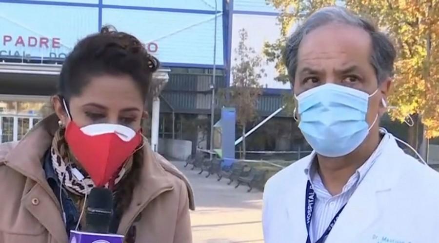 Capacidad del Hospital Padre Hurtado en el día 71 de la pandemia: Quedan tres ventiladores disponibles