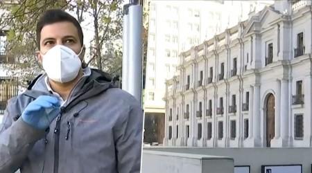 Confirman caso de  Covid-19 en La Moneda: Retiran a periodistas y activan protocolo
