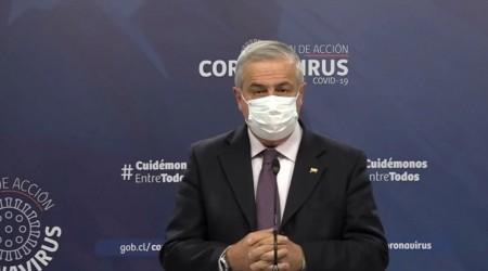 Gobierno anuncia confinamiento total en el gran Santiago tras récord de contagios