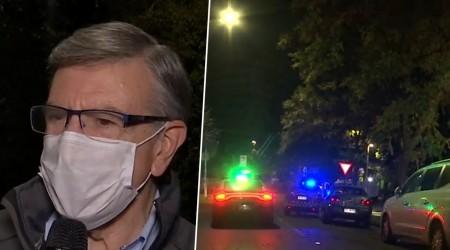 Delincuencia en pleno toque de queda: Simón Oliveros participó en patrullaje nocturno por Las Condes
