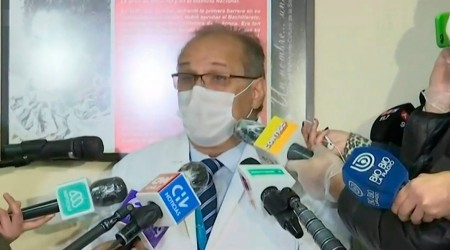 """Director de Hospital San José: """"No existen cadáveres en pasillos del hospital"""""""