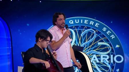 Mauricio Jürgensen y Diego Espinosa demuestran sus dotes en la música