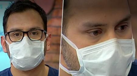 """""""Hoy hay que sobrevivir"""": Doctor conmueve con testimonio de lucha contra el Covid-19"""