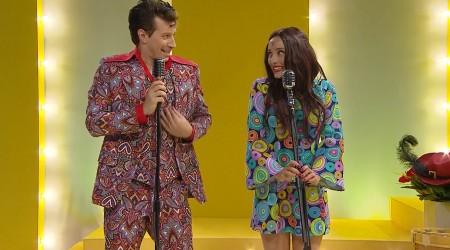 """Nancy y Jimmy tuvieron su debut en televisión cantando """"Eres tú"""""""