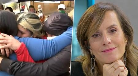 Familias de campamento en Cerrillos emocionadas tras millonarias donaciones