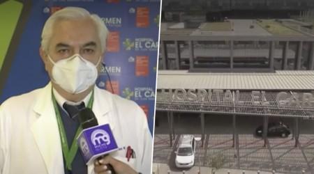 """Director Hospital El Carmen de Maipú:""""La situación es difícil, si no pudiéramos hacer traslados sería crítico"""""""