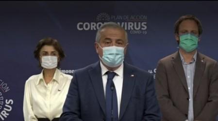 """""""Puede pasar que hayan dos pacientes y una cama"""": Ministro Mañalich por sistema hospitalario al límite"""