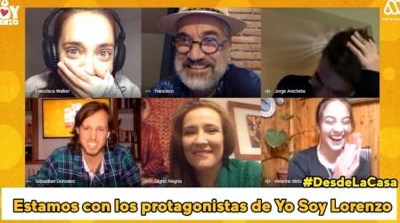 Protagonistas de Yo Soy Lorenzo cuentan los chascarros de la teleserie