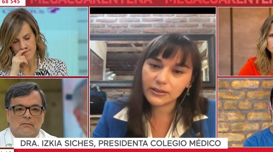 """Izkia Siches sobre coronavirus: """"Estamos en una situación crítica y esto va a seguir empeorando"""""""