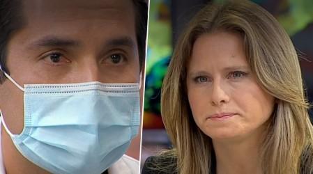 """Doctor """"primera línea"""" relata cómo salvan vidas en Hospital Barros Luco"""