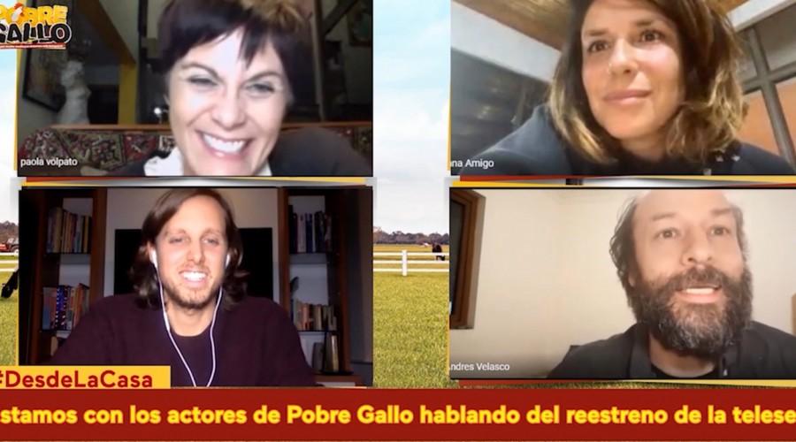 #DesdeLaCasa protagonistas de Pobre Gallo cuentan la firme: ¿Quién era el más mateo del elenco?