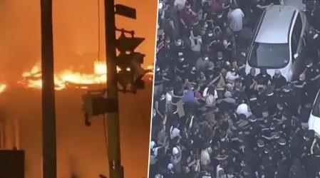 Estallan protestas en decenas de ciudades de EE.UU. tras crimen racial