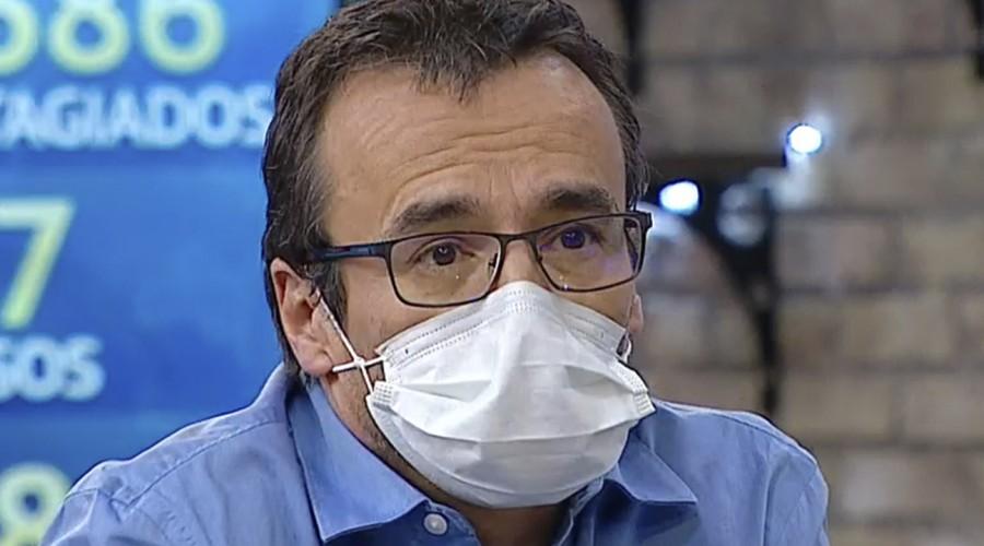 """""""Estamos subiendo recién la curva"""": Experto en salud pública analiza avance de coronavirus en Chile"""