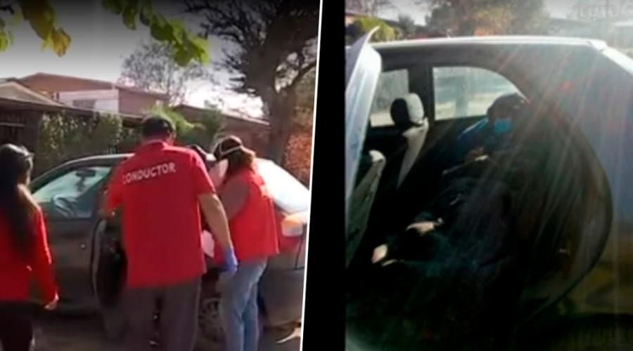 Familia pide con urgencia residencia sanitaria: Joven contagiada con Covid-19 debe dormir en el auto