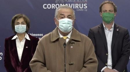 Ministro Mañalich anuncia nuevo testeo de PCR mediante muestras de saliva