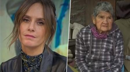 Vecinas de La Granja crean red de apoyo para abuelita de 84 años que vive en precarias condiciones