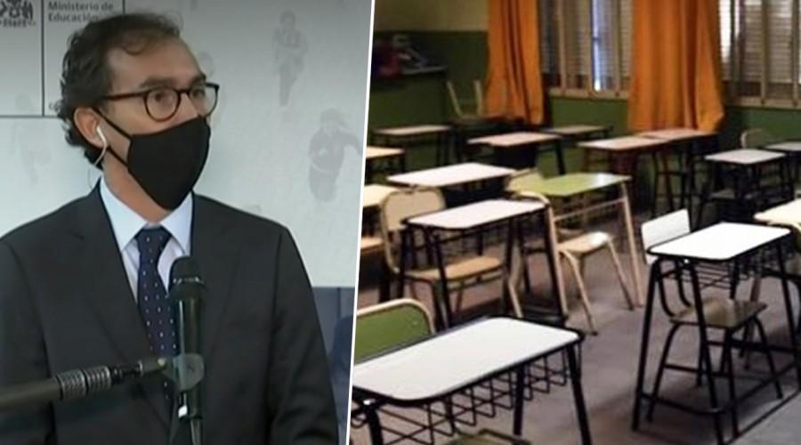 """Ministro de Educación sobre el Simce 2020: """"Tendrá solo un carácter de diagnóstico"""""""