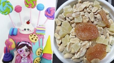 Emprendedores Mega: Desde pasteles con hermosos diseños hasta saludables frutos secos