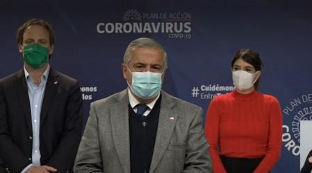 Minsal endurece medidas sanitarias: Gran Santiago y Valparaíso en cuarentena total