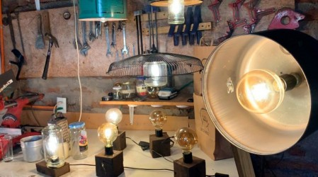 Emprendedores Mega: La historia de los jóvenes chilenos que transforman basura en bellas lámparas