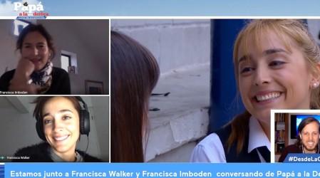 Francisca Imboden y Fran Walker cuentan lo que más les costó en Papá a la Deriva