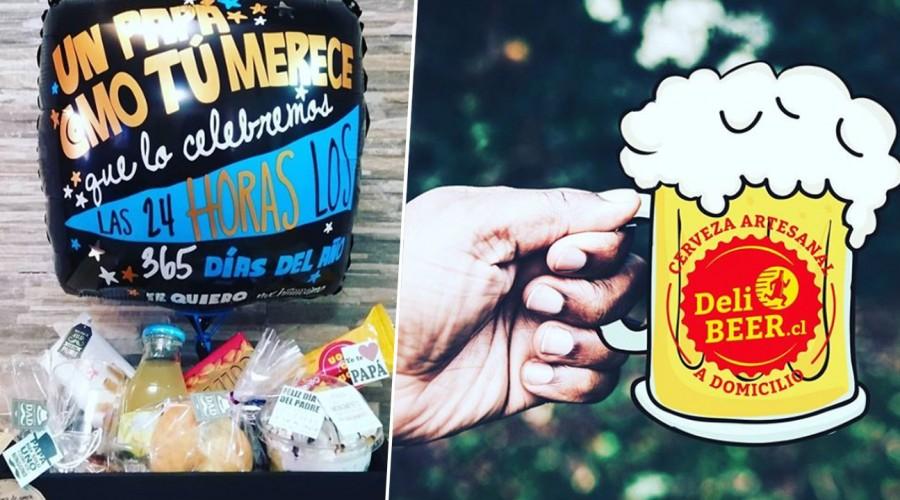 Desde cervezas artesanales a regalos personalizados: Prefiere las pymes para sorprender en Día del Padre