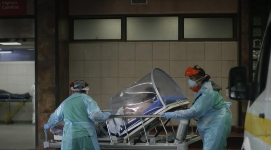 Se llovió carpa del hospital San José: Debieron trasladar a pacientes cubiertos con plásticos