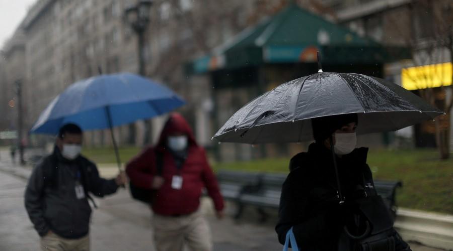 Lloverá durante todo el día en gran parte del país y hay probabilidad de tormenta eléctrica en Valparaíso