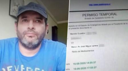 Insólito: Persona con Covid-19 obtuvo permiso temporal en Comisaria Virtual