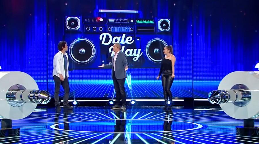 Matías Oviedo y Paty López demostraron sus conocimientos musicales en Dale Play
