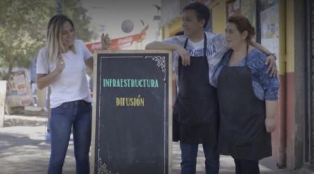 """El almacén """"Feñita"""" en Cerro Navia vivirá una modernización profunda gracias a Mariana Derderián"""