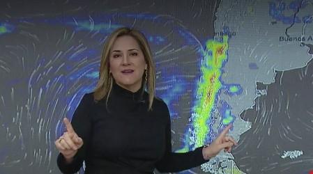 Desde Coquimbo al Ñuble: Michelle pronostica frente con vientos y lluvia