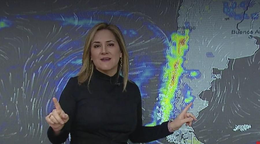 Desde Coquimbo a la región del Ñuble: Michelle Adam pronostica sistema frontal con vientos y lluvia