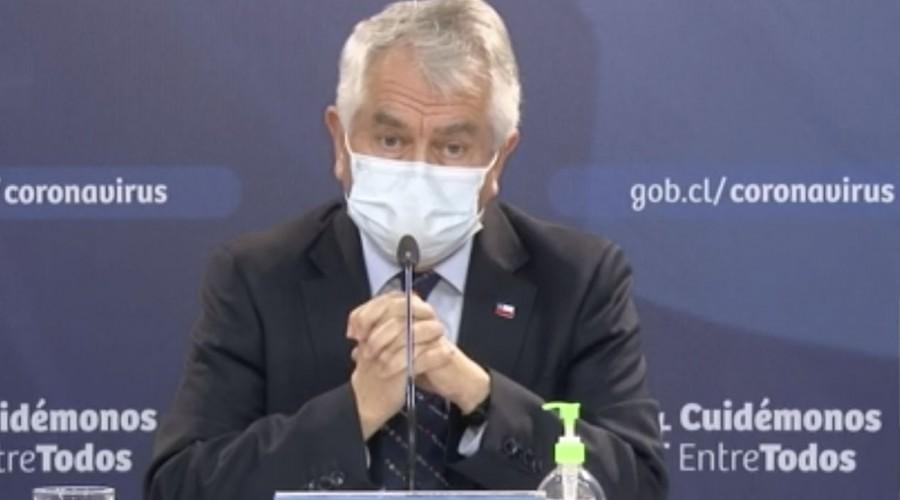 """Ministro de salud en nuevo balance diario: """"Hay una reducción de 14% de casos confirmados a nivel nacional"""""""
