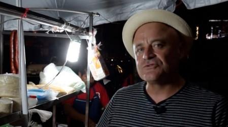 Marcelo Cicali se sorprendió con los platos chilenos que se preparan en Ciudad de México