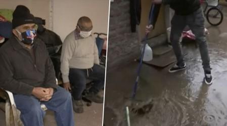 Tres hermanos adultos mayores de Cerro Navia necesitan ayuda: No tienen calefont, estufa y viven hacinados