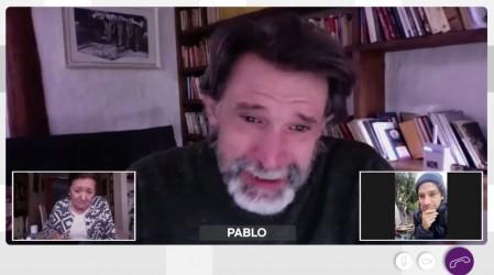 """""""Voy a ser papá"""": Pablo y María Teresa lloraron de emoción con la noticia que les dio Diego"""