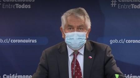 """""""Se mantiene la incipiente mejoría"""": Ministro París por cifras de coronavirus en Chile"""