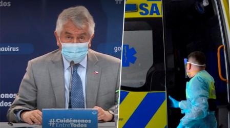 """Ministro Paris: """"Los casos nuevos han disminuido un 19% en los últimos días"""""""