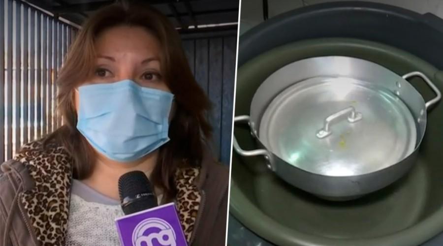 Delincuentes se robaron comida y gas para olla común en Renca