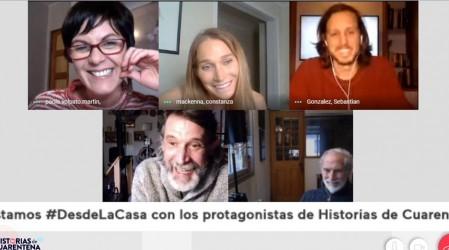"""""""Esa frase me hizo mier..."""": Protagonistas de Historias de Cuarentena eligen el capítulo más emotivo"""
