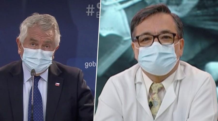 """Doctor Rivera advierte que pese a """"leve mejoría"""" aún quedan muchos hospitalizados en las UPC"""