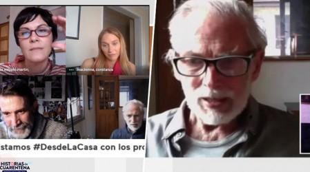 """Héctor Noguera confiesa que le """"costó un rato largo entender"""" cómo se iba a grabar Historias de Cuarentena"""