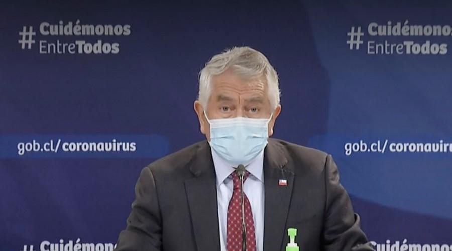 Balance Covid-19: Ministro Paris informa que positividad de exámentes PCR ha bajado a 19%