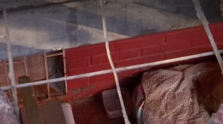 Riesgo de derrumbe: Block de La Granja está al borde del colapso