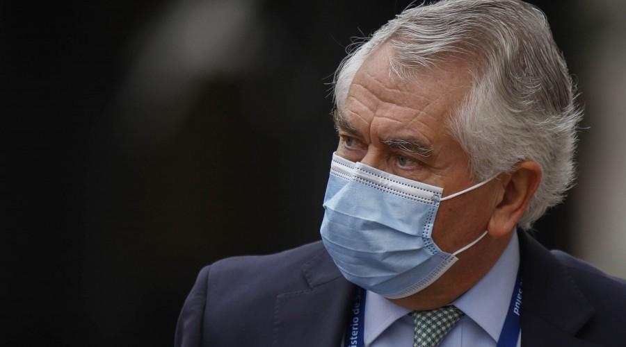 """Ministro Paris sobre leve mejoría de 23 días: """"Esto no significa dejar de cumplir las medidas sanitarias"""""""